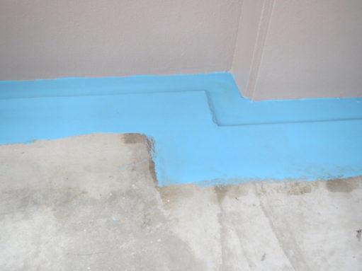 ウレタン防水 長尺シート 中塗り