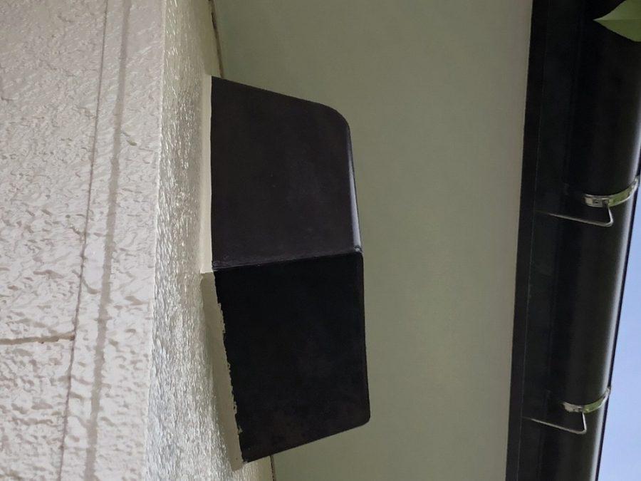 愛知県の外壁塗装工事の換気口の塗装後の写真