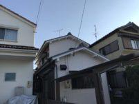 愛知県春日井市の外壁塗装工事の塗装後の写真
