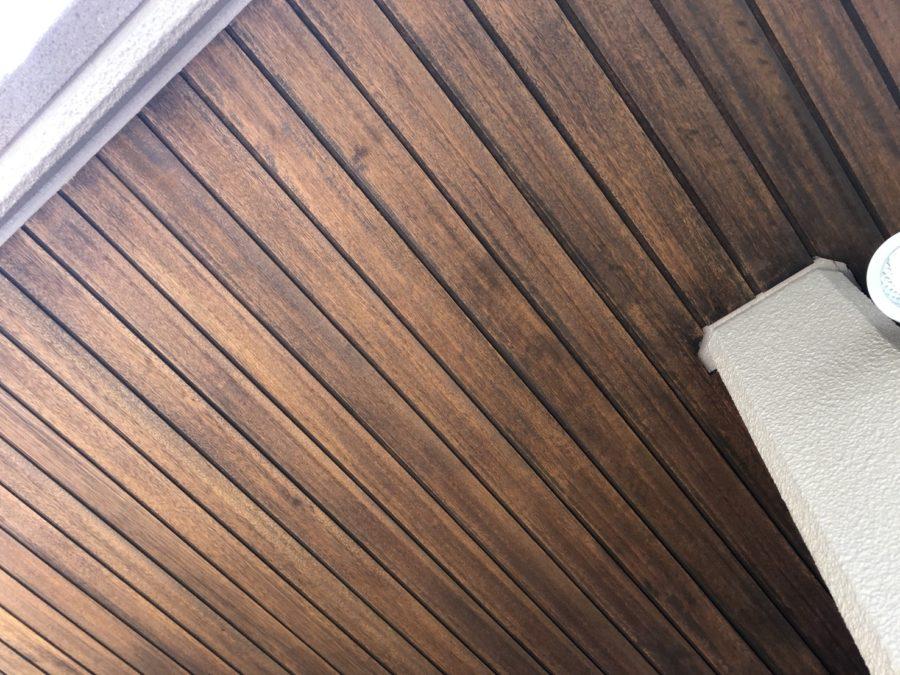 愛知県の木部塗装工事の塗装後