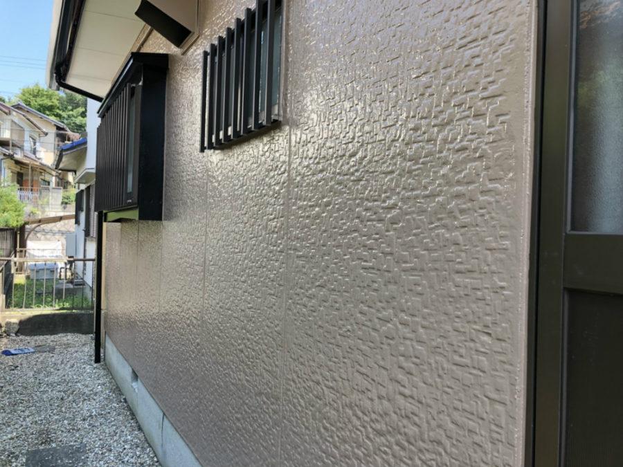 三重県の外壁塗装工事の外壁の塗装後の写真