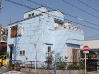 外壁塗装工事の塗装後の写真