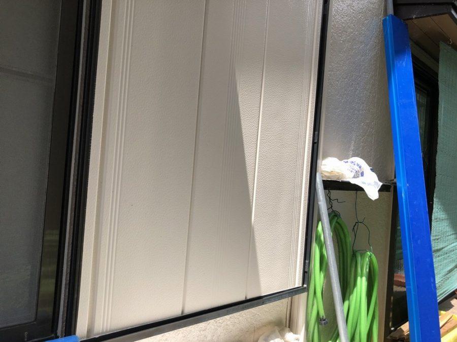 愛知県の外壁塗装工事の外壁の塗装後の写真