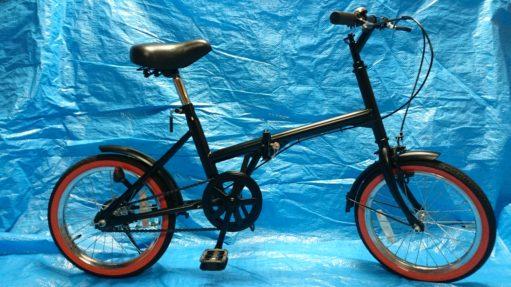 自転車 塗装後 塗替え