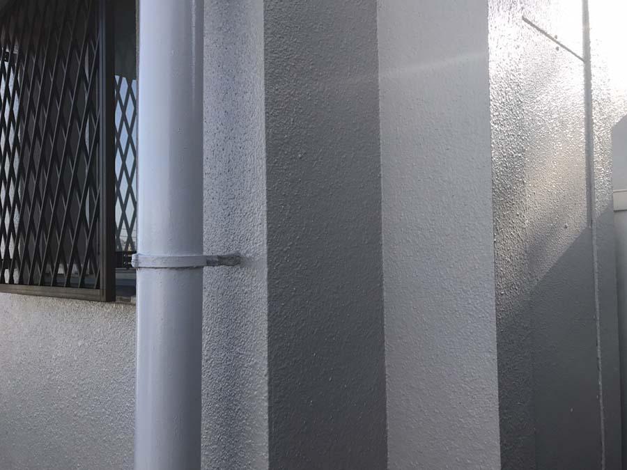 外壁塗装工事のトイの塗装後の写真