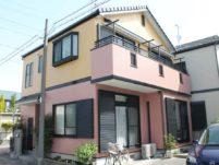 名古屋市の外壁塗装工事の施工前の写真