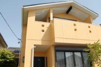 名古屋市の外壁塗装工事の塗装後の全体写真