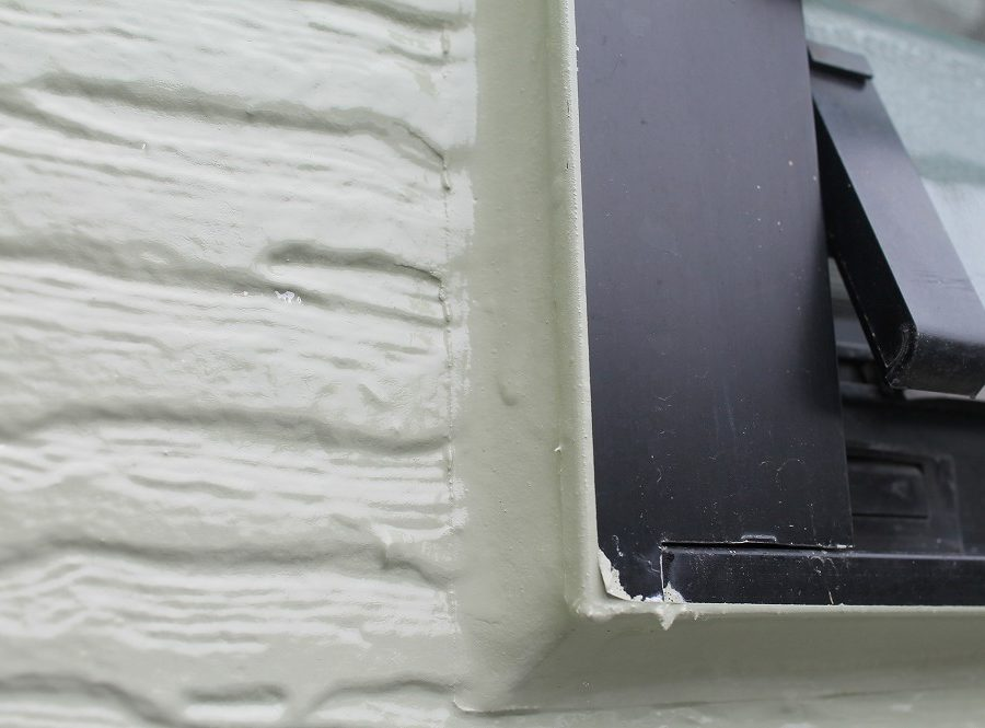 外壁塗装工事のシーリング加工