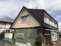 岐阜県瑞浪市の外壁塗装工事の塗装後の写真