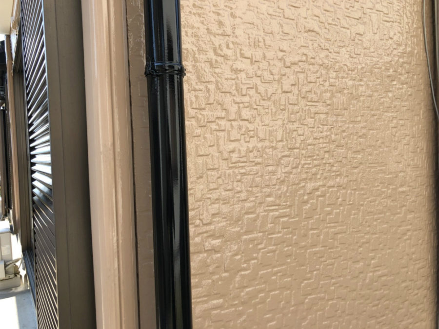 三重県の外壁塗装工事のトイの塗装後の写真