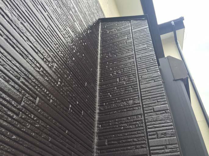 外壁塗装工事の外壁の塗装後