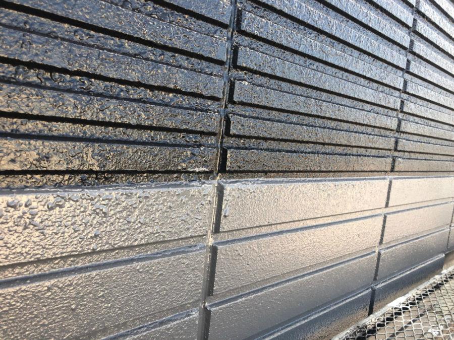 名古屋市の外壁塗装工事の外壁の塗装後の写真