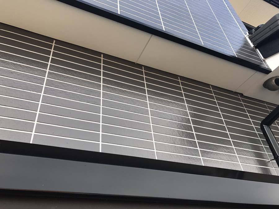 愛知県可児市の外壁塗装工事の塗装後の写真